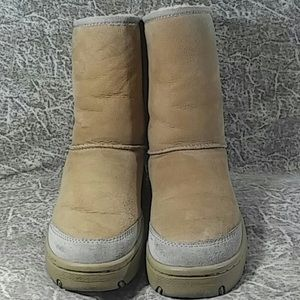 UGG Two Tone Winter Boots